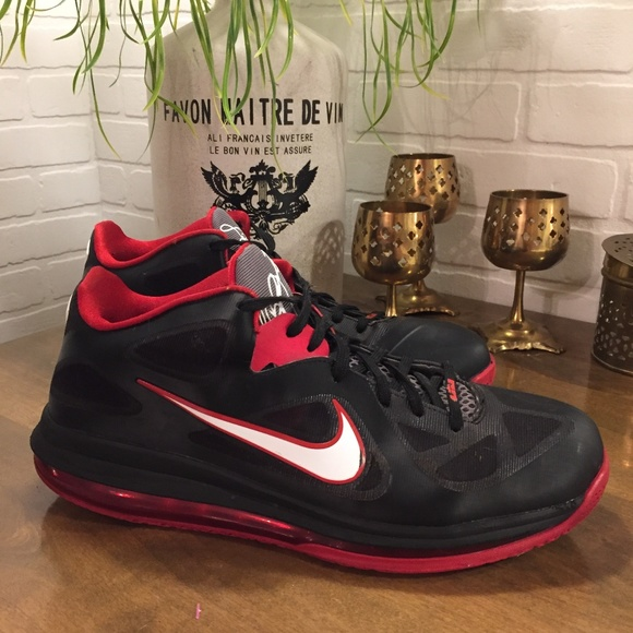 half off c65c1 b4d9b 2012 Nike Lebron 9 Low 510811-003 Mens Size 13